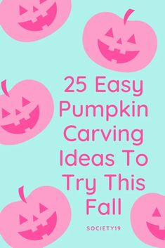 25 Easy Pumpkin Carving Ideas To Try This Fall Cute Pumpkin Carving, Skull Pumpkin, Spooky Pumpkin, Pumpkin Faces, Diy Halloween Decorations, Halloween Diy, Face Ok, Mickey Mouse Pumpkin, Brace Face