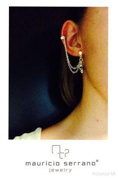 Sometimes Jewelry Makes more Sense!!! #UnaVerdaderaJoya  #MauricioSerrano #Mexico #Love #Fashion #Art #Joyas #Diseñador #Plata #Silver #Jewelry #Summer