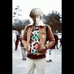 #ancient #statue #street #fashion #color #art #artwork  Street style