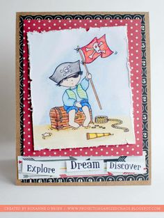 project by Roxanne O'Brien using blendable pencils only and a @CraftersCompanion stamp