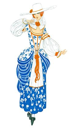 Erte Costume Design beautifulness. Look at the other designs here.