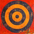 Jasper Johns - Target  Study on circles