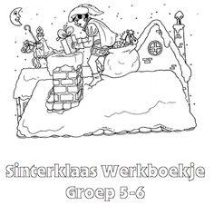 Sinterklaas Werkboekje Groep 5-6
