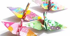 Origami Crane 1000 Origami Paper Cranes Japanese by GraceinCrease