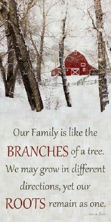Our Family Winter Barn picture by Summer Snow Art