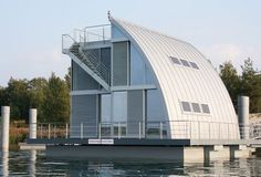 Life on Water: Modular Aqua Floathome in Germany | House boats ...