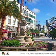 Plaza de Caricasco. Las Palmas. Gran Canaria
