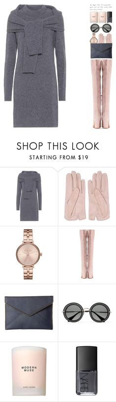 """6465"" by tiffanyelinor ❤ liked on Polyvore featuring Isa Arfen, Mario Portolano, Michael Kors, Gianvito Rossi, Rebecca Minkoff, Miu Miu, Estée Lauder and NARS Cosmetics"