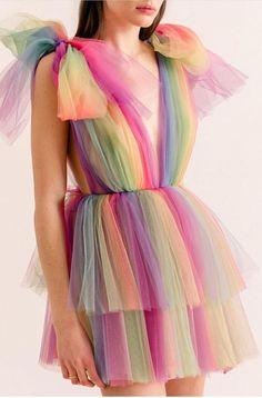 Dream Come True Dress - Kleidung 2020 Tulle Dress, Dress Skirt, Dress Up, Draped Dress, Fancy Dress, Mode Kpop, Pretty Dresses, Beautiful Dresses, Mode Inspiration