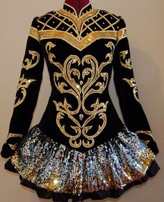 Irish Dance Solo Dress Costume by KDSF