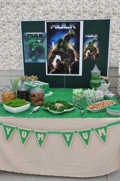 "Incredible Hulk / Birthday ""Shant's Incredible Hulk Birthday"" | Catch My Party"
