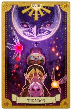 Zelda Tarot Card