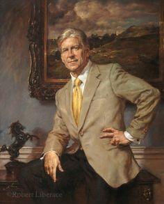 Portraits – Robert Liberace National Portrait Gallery, Portrait Art, Oil On Canvas, Fine Art, Denim Outfit, Drawings, Sweden, Preppy, Artwork