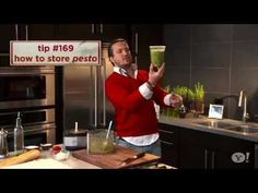 Fabio shares the easiest way to store fresh, homemade pesto!