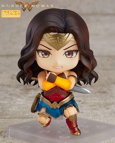 Wonder Woman Nendoroid Action Figure DC Justice League Q Edition Wonder Woman Film, Wonder Women, Anime Figures, Action Figures, Movie Blog, Female Hero, Hits Movie, Mode Shop, Justice League