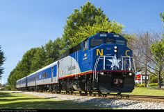 RailPictures.Net Photo: NCDOT 1859 North Carolina Department of Transportation EMD F59PH at Mebane, North Carolina by Trey Belton