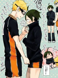 you can tell tsukki is looking back to make sure no one saw him being a caring boyfriend