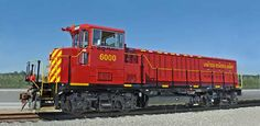 (GG20B).  2,000 hp rated hybrid locomotive, engines: 1-300hp Cat C9 genset plus battery bank, on 4 axle GP-type frame.