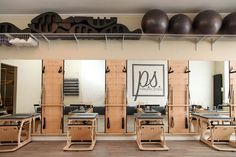 At The Pilates Studio, we integrate all of the traditional and modern Pilates equipment into our sessions. The key to a complete Pilates practice is becoming familiar and versatile on any apparatus. W