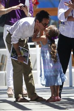 Marc Anthony and his daughter Emme