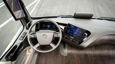 "Keep on #Trucking...or not? #Mercedes Benz unveiled its self-driving ""Future Truck 2025"""