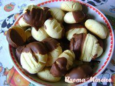 Aroma Mineiro : Sequilhos de Leite Condensado - Cobertos com Chocolate
