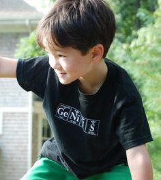 GENIUS Periodic Table Toddler TShirt  Size by periodicallyinspired, $14.00