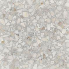 Dove Grey - fibonacci terrazzo stone