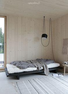 Minimalist Home Interior .Minimalist Home Interior Plywood Interior, Plywood Walls, Living Room Decor, Bedroom Decor, Master Bedroom, Decoration Ikea, New Interior Design, Interior Shop, Interior Livingroom