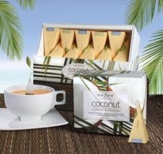 tea forte coconut teas with the health benefits of coconut