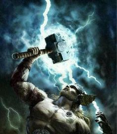 Thor is known as son of Odin. However Odin lent his father's name to Thor. Poster Marvel, Thor Norse, Loki Thor, Norse Pagan, Norse Mythology, Viking Art, Viking Warrior, Marvel Heroes, Greek Gods