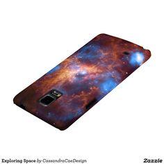 Exploring Space Galaxy Note 4 Case