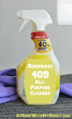 Homemade 409 All-Purpose Cleaner