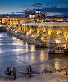A Roman Bridge in Córdoba, Spain