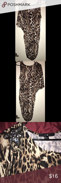 Forever XXI Leopard Stretch Dress Forever XXI Leopard Dress. It is Stretch. Fits to your figure. Very cute. Worn only twice. Still in very good condition! 🐆 Forever 21 Dresses Mini