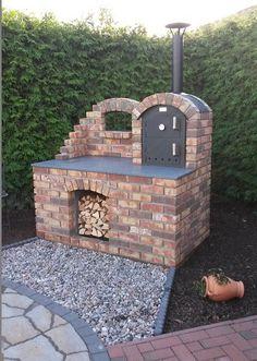 Ramster´s Holzbackofen - Holzbackofen Flammkuchenofen und Brotbackofen - Bilder von umbauten / eingebauten Öfen (Cool Kitchen Diy)