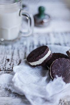 Homemade Vegan Oreos + Blendtec Coconut Butter   Adventures in Cooking by Eva Kosmas Flores, via Flickr
