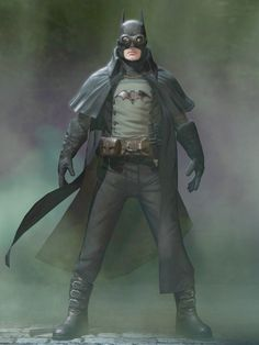 Steampunk Dark Knight - Love this outfit.