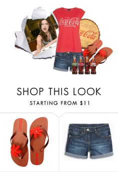 """""""Coke"""" by fashionstarprincess ❤ liked on Polyvore featuring BOBBY, IPANEMA and New Look"""