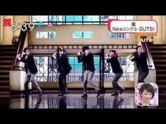 嵐 NEWシングル 新曲GUTS! MV解禁