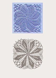 Wełnomaniaczka: Szydełko - wzory
