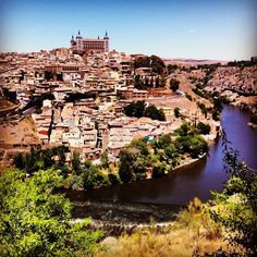 """""""Holy Toledo this town is beautiful!"""" #travel #spain"""
