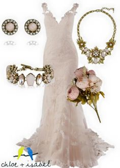 C+I weddng #bride #wedding #bridal #weddingdress #pinkwedding #weddingjewelry #blush
