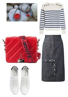"""""""Untitled #6"""" by katerina-strouggari on Polyvore featuring TIBI, Closed and Prada"""