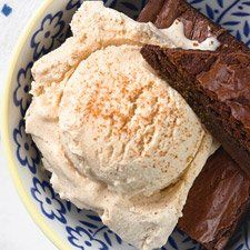 Cinnamon Ice Cream - Smooth and creamy, with a kick of cinnamon spice.
