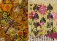 altered playing card canvas - Google Search