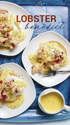 Benedict Think eggs Benedict is decadent? Wait until you taste this lobster-centric version Think eggs Benedict is decadent? Wait until you taste this lobster-centric version What's For Breakfast, Breakfast Items, Breakfast Dishes, Breakfast Recipes, Lobster Recipes, Seafood Recipes, Hummer, Healthy Eating Recipes, Cooking Recipes