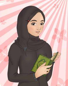 Muslimah Anime, Manga Drawing ❤ Manga Drawing, Art Pieces, Disney Princess, Disney Characters, Drawings, Allah, Beautiful, Sketches, Art Work