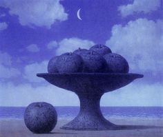 the great table- Rene Magritte 1965