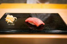 Oo-toro (Fatty Tuna) by Sukiyabashi Jiro, via Flickr